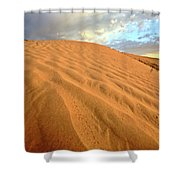 Sand Dune At Great Sand Hills In Scenic Saskatchewan Shower Curtain by Mark Duffy