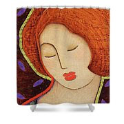 Soul Memory Shower Curtain by Gloria Rothrock