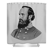 Stonewall Jackson Shower Curtain by War Is Hell Store