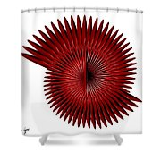 2am until 8am Shower Curtain by Kevin  Sherf