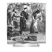 MERCHANT OF VENICE Shower Curtain by Granger