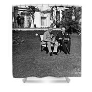 Casablanca Conference Shower Curtain by Granger