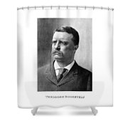 President Theodore Roosevelt Shower Curtain by War Is Hell Store