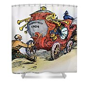 Presidential Campaign 1904 Shower Curtain by Granger