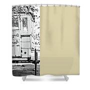 Roman Candy Shower Curtain by Scott Pellegrin