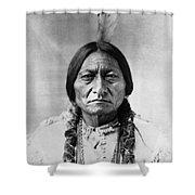 Sitting Bull (1834-1890) Shower Curtain by Granger