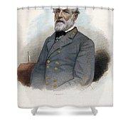 ROBERT E. LEE (1807-1870) Shower Curtain by Granger