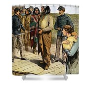 Geronimo (1829-1909) Shower Curtain by Granger