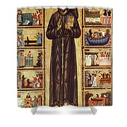 St Francis Of Assisi Shower Curtain by Granger