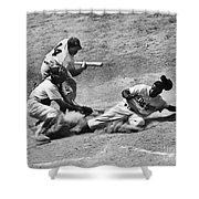 Jackie Robinson (1919-1972) Shower Curtain by Granger