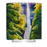 A Favorite Place Shower Curtain by Karen Stark