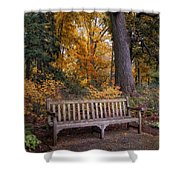 A Place To Rest Shower Curtain by Jessica Jenney