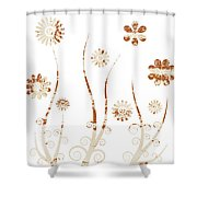 A Shabby Meadow Shower Curtain by Frank Tschakert