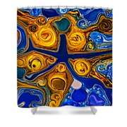 A Star Is Born Shower Curtain by Omaste Witkowski