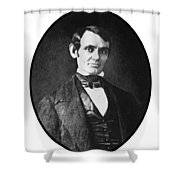 Abe Lincoln As A Young Man  Shower Curtain by War Is Hell Store