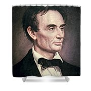 Abraham Lincoln Shower Curtain by George Peter Alexander Healy