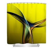 Abstract 060311 Shower Curtain by David Lane