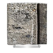 Abstract Concrete 16 Shower Curtain by Anita Burgermeister