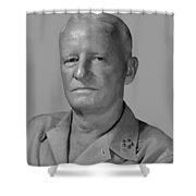 Admiral Chester Nimitz Shower Curtain by War Is Hell Store