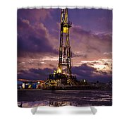 After The Storm Shower Curtain by Jonas Wingfield