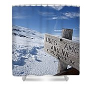 Airline Trail - White Mountains New Hampshire Shower Curtain by Erin Paul Donovan