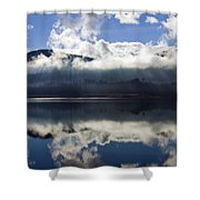Almost Heaven Shower Curtain by Mike  Dawson