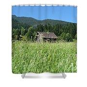 Alpine Meadow  Shower Curtain by Carol Groenen