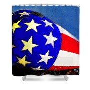 American Legend Shower Curtain by David Lee Thompson
