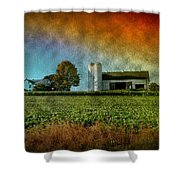 Amish Country Farm Shower Curtain by Bill Cannon