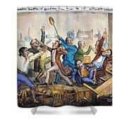 Andrew Jackson (1833) Shower Curtain by Granger