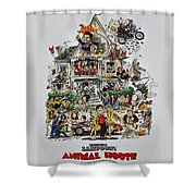 Animal House Shower Curtain by Movie Poster Prints