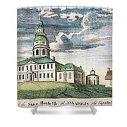 Annapolis, Maryland, 1786 Shower Curtain by Granger