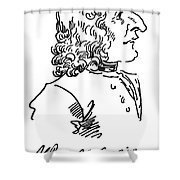 Antonio Vivaldi (c1675-1741) Shower Curtain by Granger