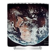 Apollo 11: Earth Shower Curtain by Granger