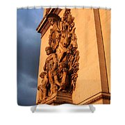 Arc De Triomphe Shower Curtain by Juergen Weiss