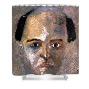Arnold Schoenberg Shower Curtain by Granger