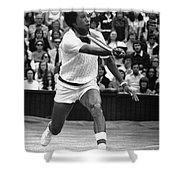ARTHUR ASHE (1943-1993) Shower Curtain by Granger