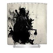 Viking Shower Curtain by Nicklas Gustafsson
