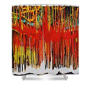 Ascension Shower Curtain by Ralph White