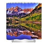 Aspen Wonder Shower Curtain by Scott Mahon