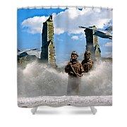 Atlantis Shower Curtain by Brian Roscorla