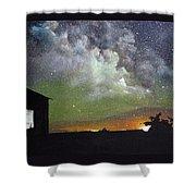 Aurora Lights Shower Curtain by Annmarie Vierick