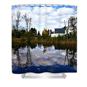 Autumn Is Colorful Shower Curtain by Paul Ge