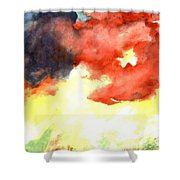 Autumn Storm Shower Curtain by Andrew Gillette