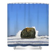 Bandon 14 Shower Curtain by Will Borden