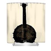 Banjo Mandolin Shower Curtain by Bill Cannon
