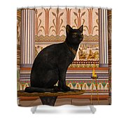 Bast Shower Curtain by Corey Ford
