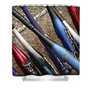 Bat Collection Shower Curtain by Kelley King