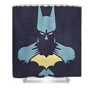 BATMAN Shower Curtain by Jason Longstreet