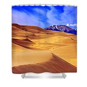 Beauty Of The Dunes Shower Curtain by Scott Mahon